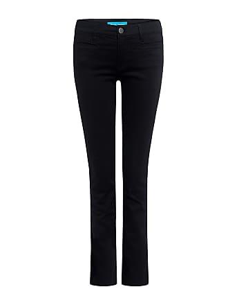 Mih Jeans Paris Mid Rise Straight-leg Cropped Jeans Black