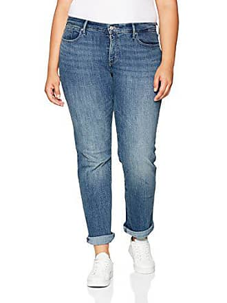 cad156bb Levi's Plus 314 PL Shaping Straight Jeans, Blu (Water Crackle 10), Taglia
