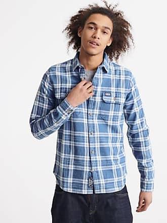 Superdry Camicia a maniche lunghe Merchant Milled Lite