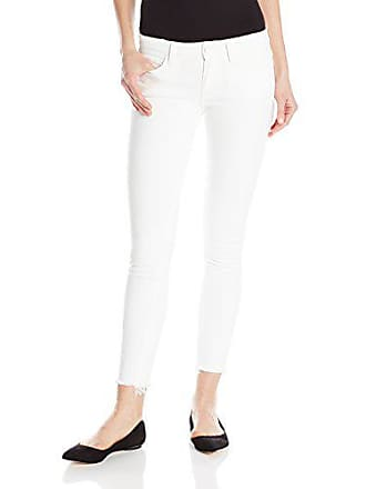 Paige Womens Verdugo Ankle Jeans, Distressed Optic White, 24
