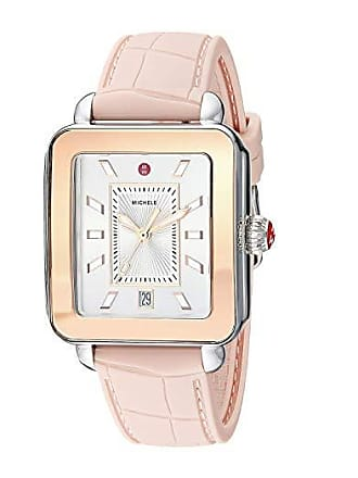 da73e8617 Michele Deco Sport - MWW06K000015 (Desert Rose Embossed Silicone/Pink Gold  Plated Case/