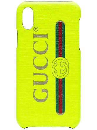 56636dc890e8 Gucci Fluorescent yellow iPhone X case