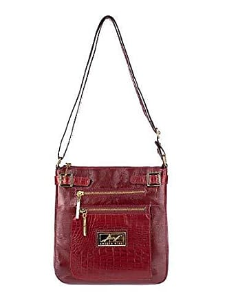 Andrea Vinci Bolsa Tiracolo Chloe em couro vermelha