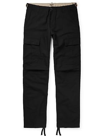 Carhartt Work in Progress Aviation Slim-fit Cotton-ripstop Cargo Trousers - Black