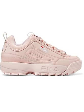 wholesale dealer 69f6e c59f9 Fila Baskets En Cuir À Logo Disruptor Ii Premium - Rose