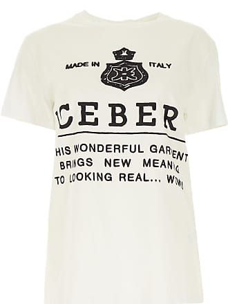 da30e58c7ec1a6 Iceberg T-Shirt for Women On Sale, White, Cotton, 2017, 12