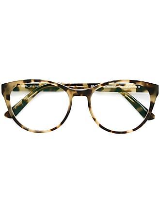 Mykita Armação de óculos Teresa com clip - Marrom