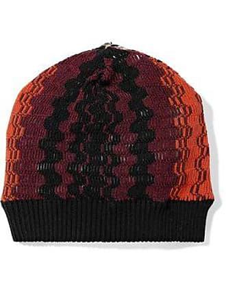 60d1992b871 Missoni Missoni Woman Crochet-knit Wool-blend Beanie Orange Size