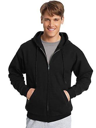 Hanes ComfortBlend EcoSmart Full Zip Hoodie Charcoal Heather 2XL