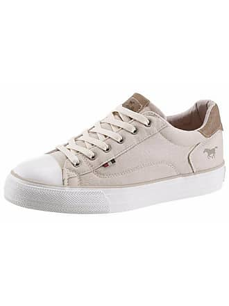 Mustang Damen Mustang Shoes Sneaker, beige, Gr. 36, MustangShoes cba9a403ab