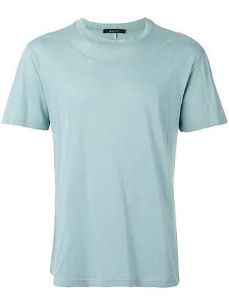 Qasimi seaming detail T-shirt - Blue