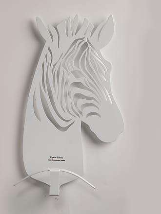 Lettera G Caccia Grossa White Zebra