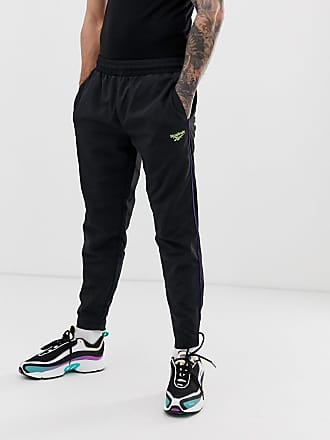 416c3c5aba5db Reebok Pantalon de jogging à imprimé vector - Noir - Noir