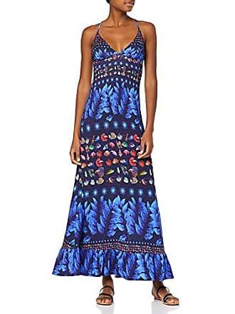 2ca0d1113963 Desigual Vest Greta Vestito, Blu (Marino 5001), XL Donna