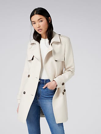 Forever New Aaliyah Trench Coat - Stone - 10