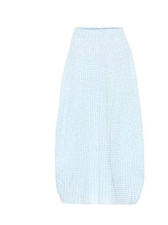 Jil Sander Checked cocoon skirt