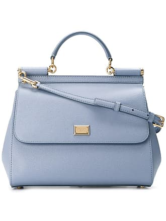 Dolce & Gabbana Bolsa tote Sicily mini - Azul