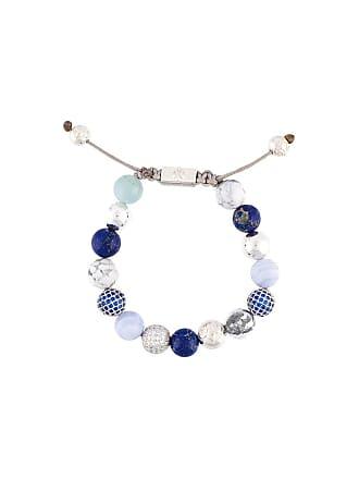 Nialaya Pulseira de prata com pedrarias - Azul