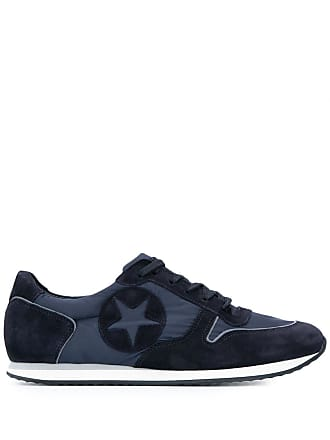 Kennel & Schmenger star patch sneakers - Azul