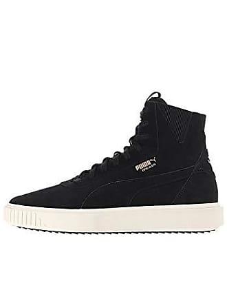 03a8f49e741a02 Puma Breaker Hi Evolution Sneaker Black-Whisper White 12