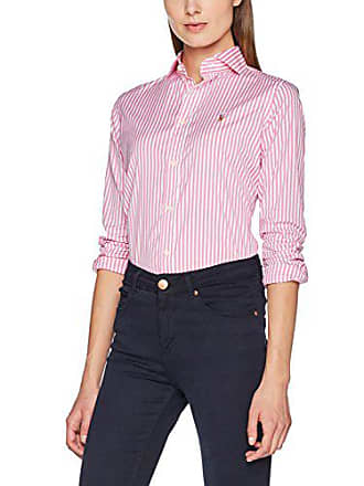 45bb4e8520e Polo Ralph Lauren BRW Kendal-Long Sleeve-Shirt - Chemise - Femme -  Multicolore