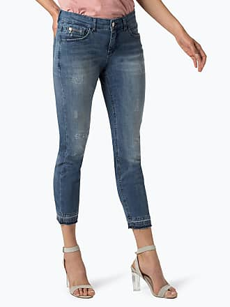 MAC Damen Jeans blau