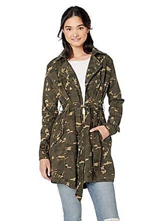 Urban Republic Womens Juniors Cotton Twill Jacket, Hibiscus CP 3X