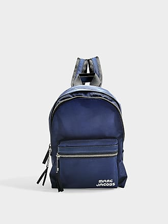 Marc Jacobs Sac à Dos Medium Backpack en Polyster Bleu Nuit f60b336f4819