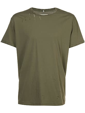 R13 distressed T-shirt - Verde