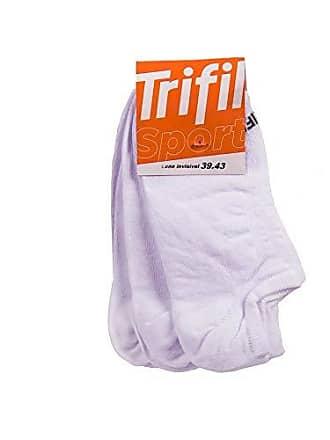 Trifil Kit Meia Trifil Invisível Branco 39-43