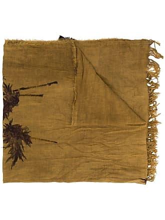 Uma Wang crinkled tassel scarf - Neutrals