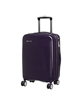 IT Luggage IT Luggage 20.9 Signature 8-Wheel Hardside Expandable Carry-on, Black Cordial - Purple
