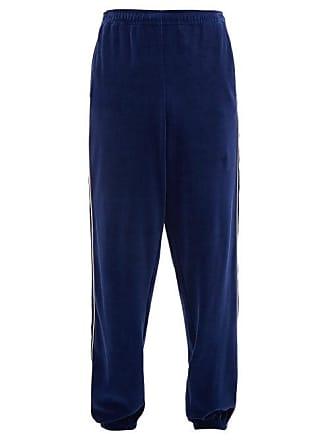24ccb4f6e Gucci Gg Jacquard Cotton Chenille Track Pants - Mens - Blue