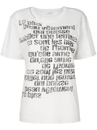 61154af784cda Saint Laurent T-Shirts for Women − Sale: up to −62% | Stylight