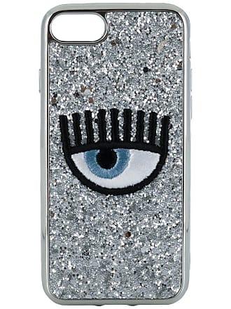 Chiara Ferragni Capa para iPhone 7/8 Flirting - Prateado
