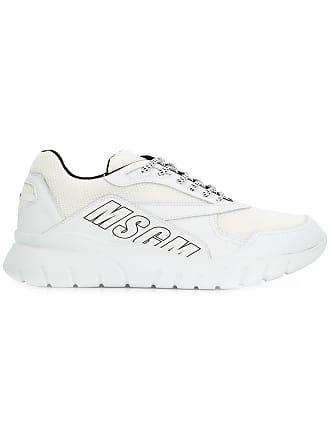 Msgm Sneakers con suola spessa - Di Colore Bianco ae66ac88e0b