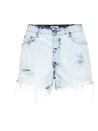 GRLFRND The Cindy high-rise denim shorts