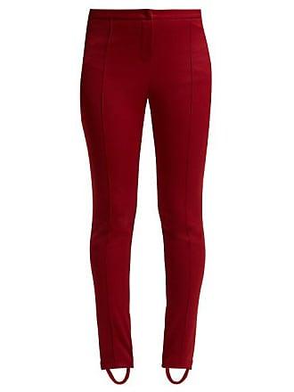 51e3c4abd78 Gucci Technical Jersey Stirrup Leggings - Womens - Dark Red