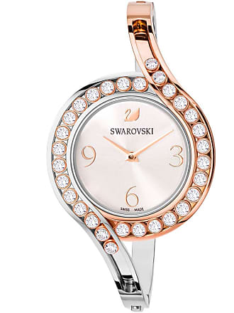 Swarovski Lovely Crystals Bangle Watch, Metal bracelet, White, Mixed tone