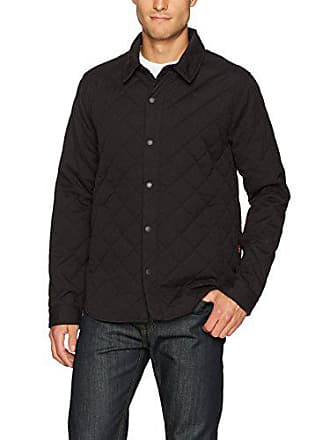 Levi's Mens Quilted Jacket, Black, Extra Large