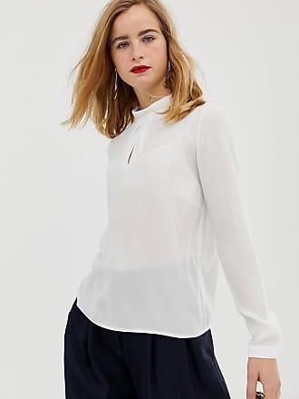 Selected Femme roll neck blouse - Cream