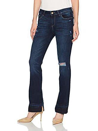 DL1961 Womens Bridget Mid Rise Bootcut Jeans, Huntington, 29