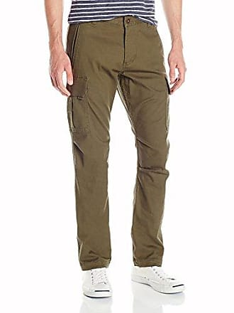 Dockers Mens Broken in Cargo Slim Tapered Fit Pant, Dockers Olive (Stretch), 28W x 30L