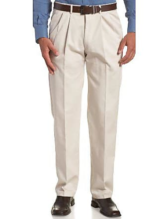 Haggar Mens Big-Tall Work to Weekend Hidden Expandable Waist Pleat Front Pant,String,52x32