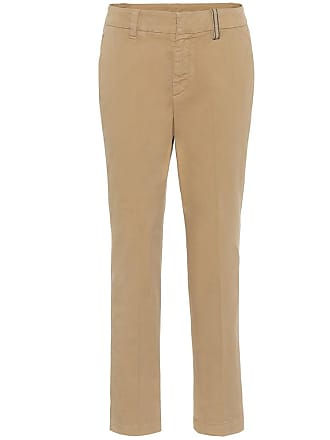 98432b38f7 Brunello Cucinelli® Cotton Pants: Must-Haves on Sale up to −62 ...