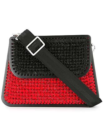 0711 large Monaco shoulder bag - Red