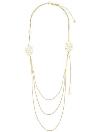 Ingie Paris faux pearl necklace - Dourado