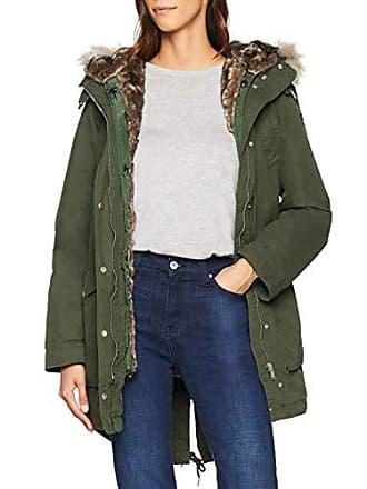 a1bf879c75f6 Tommy Jeans Damen Hooded Parka Langarm Jacke Grün (Kombu Green 399) X-Large