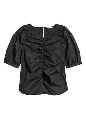 H&M Short-sleeved Top - Black