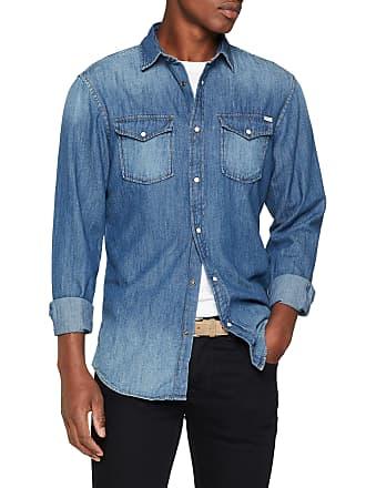 257b245ac7 Jack   Jones Mens Jjesheridan Shirt L s Denim Shirt